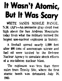 Will they say of Divine Strake: It Wasn't Atomic But It Was Scary